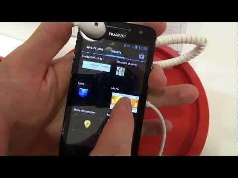 Huawei Ascend G330, prise en main à l'IFA 2012 - par Test-Mobile.fr