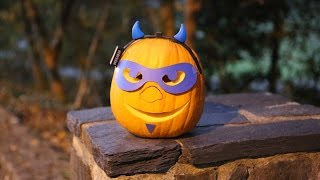 A Guide to Carving a Duke Blue Devil Pumpkin