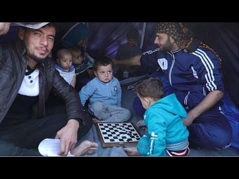 O inferno dos refugiados em Chios
