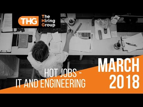 The Hiring Group Hot Jobs - IT and Engineering
