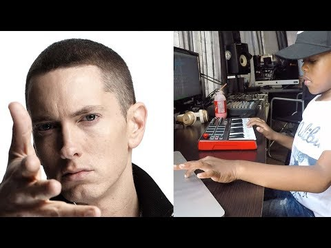 Eminem - Mockingbird Beat Creation By 6 Year Old DJ Arch Jnr