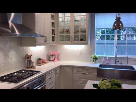 White IKEA Modern Farmhouse Kitchen Tour for Valentine's Day