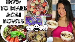 The Best Acai Smoothie Bowl Recipes (clean Ice Cream Recipe!)