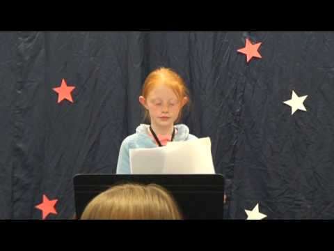 "Katriel Davies Presents ""Helen Keller"" at Pagosa Springs Elementary School"