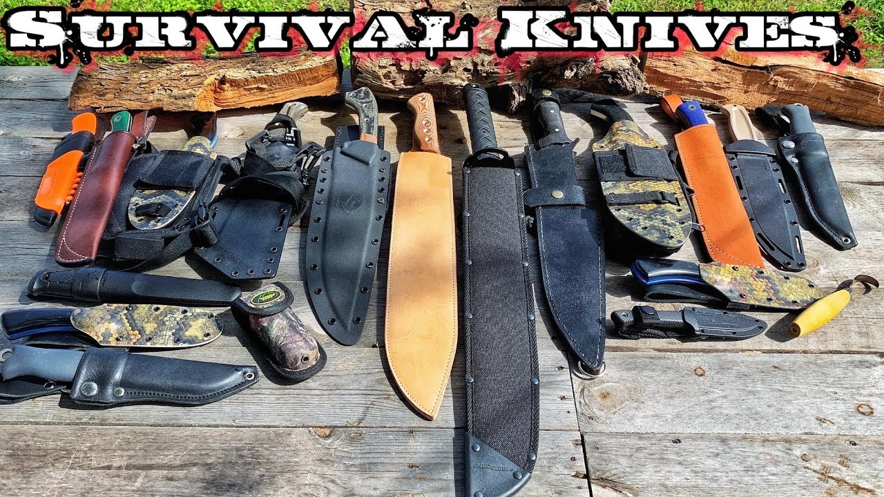my-survival-knives-for-30-day-survival-challenge