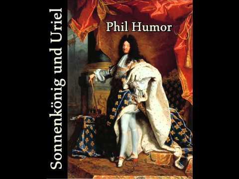 Sonnenkönig und Uriel - Ludwig XIV. und das himmlische Versailles - Gedicht von Phil Humor