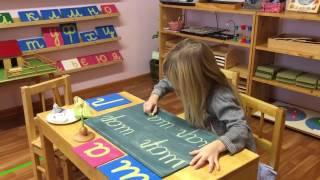 видео Детский Монтессори-центр Гурёнок