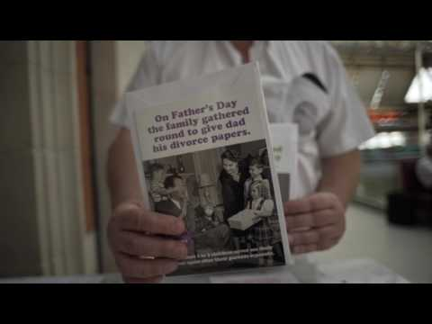 """""""Tremendous"""" Paul Robinson explains the meaning behind Father's Day """"Reality Cards"""""""