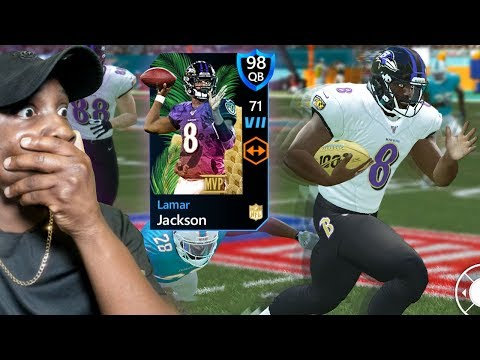 99 YARD TD RUN BY MVP LAMAR JACKSON! Madden Mobile 20 Honors Pack Opening Gameplay Ep. 19