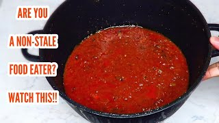 After watching this video you will never throw away your leftover tomato stew!!