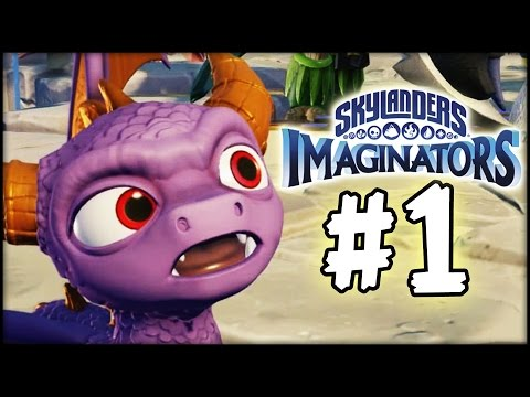 Skylanders Imaginators - Gameplay Walkthrough - Part 1 - Doomlander!