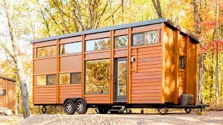 The 344 Sqft Traveler Xl Tiny Home On Wheels By Escape Homes | Living Design For A Tiny House