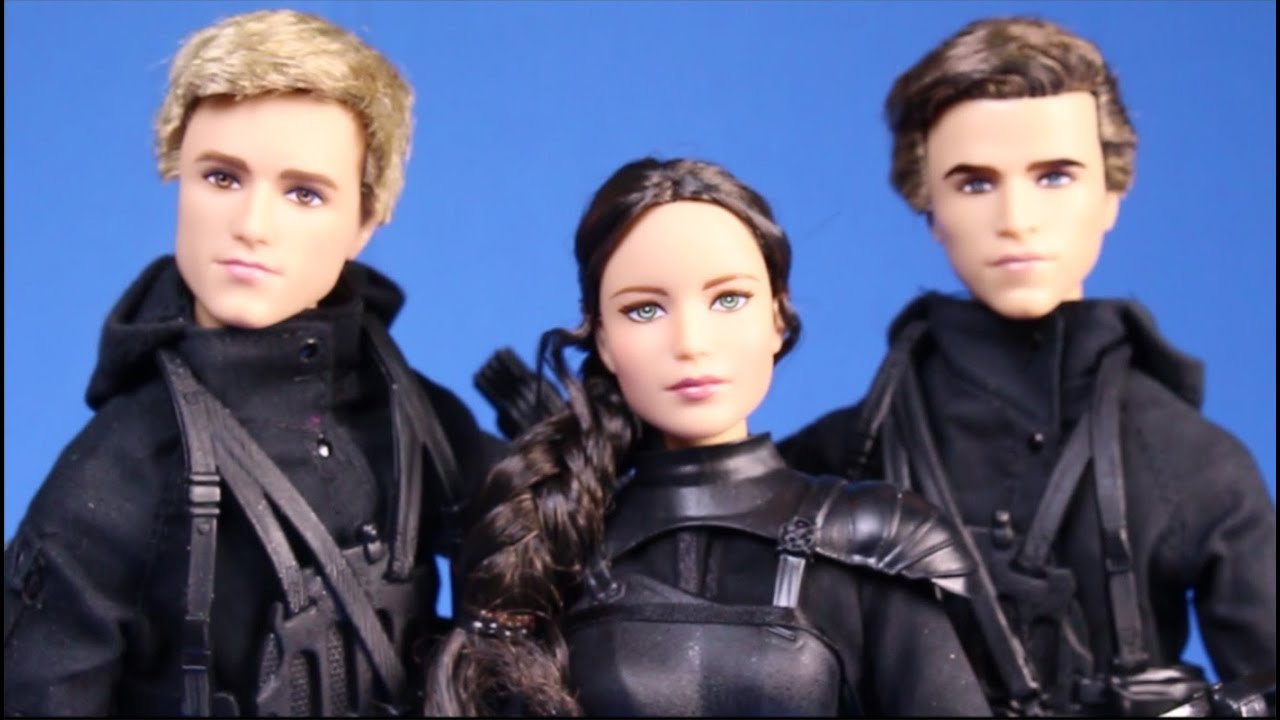 New Hunger Games Mockingjay Part 2 Movie 3 Dolls Review Unboxing