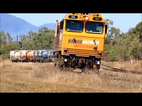 Australian Trains - Townsville Today, August 18th 2017