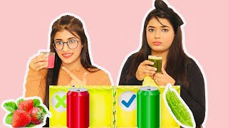 DON'T CHOOSE THE WRONG MYSTERY DRINK CHALLENGE | SAMREEN ALI