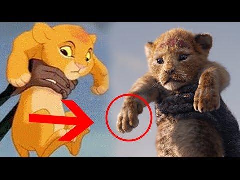 10 Cosas Que No Viste en el Trailer de El Rey León