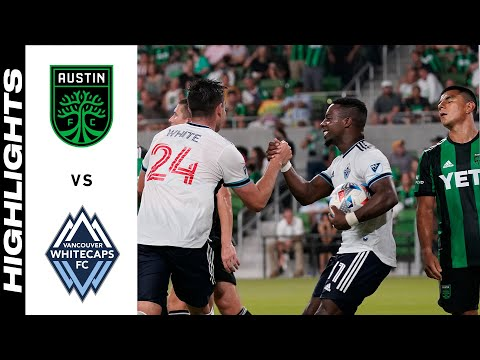 Austin FC Vancouver Whitecaps Goals And Highlights