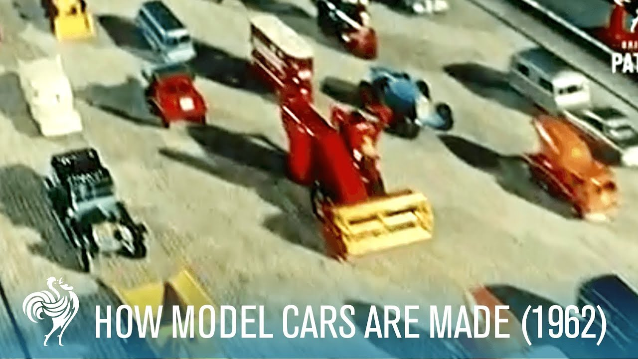 How it's made... MATCHBOX cars