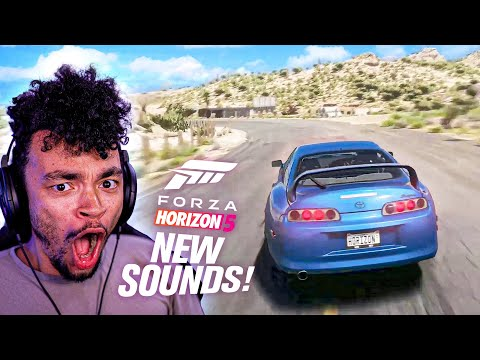 Forza Horizon 5 – NEW CAR SOUNDS GAMEPLAY! Supra, Customization & MORE! (FH5 Gameplay)