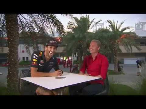 Daniel Ricciardo is a secret American
