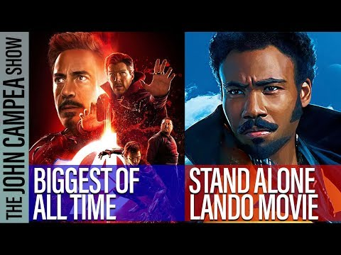 Avengers Infinity War Becomes Biggest Comic Book Box Office Film Of All Time - The John Campea Show