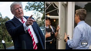 BREAKING CNN NEWS TRUMP-Trump Had a Surprise Waiting For CNN When They Tried To Enter The WhiteHouse