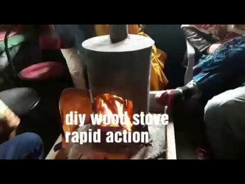 #diywoodstove#diy wood stove