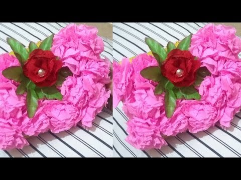 Decorate Your Pencil Box With Beautiful Paper Flowers - Stationery DIY - DIY Crafts