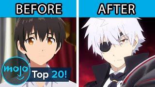 Top 20 Anime Characters Reborn As Powerful Beings