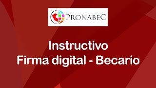 Firma Digital - Becario