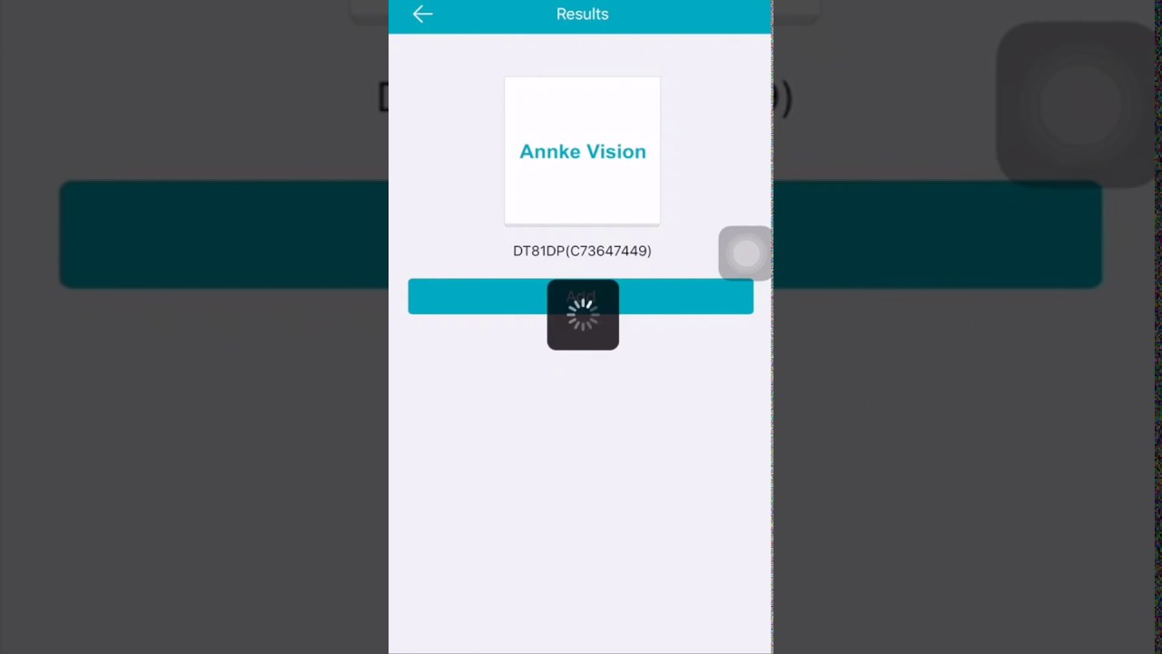 How to add the device to your phone app Annke Vision via QR code