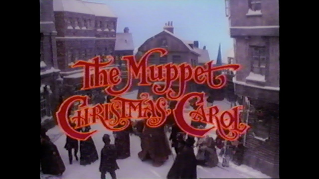 THE MUPPET'S CHRISTMAS CAROLE MOVIE TRAILER [VHS] 1992 ...