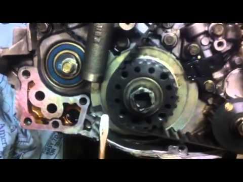 2002 Mitsubishi Eclipse Engine Diagram 07 Gsxr 600 Fuel Pump Wiring 4g64 4g63 Timing Belt Install - Youtube