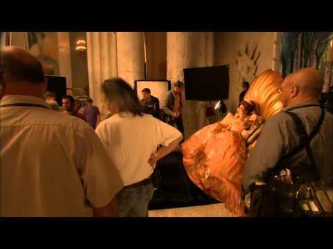 На съемках фильма Белоснежка: Месть гномов