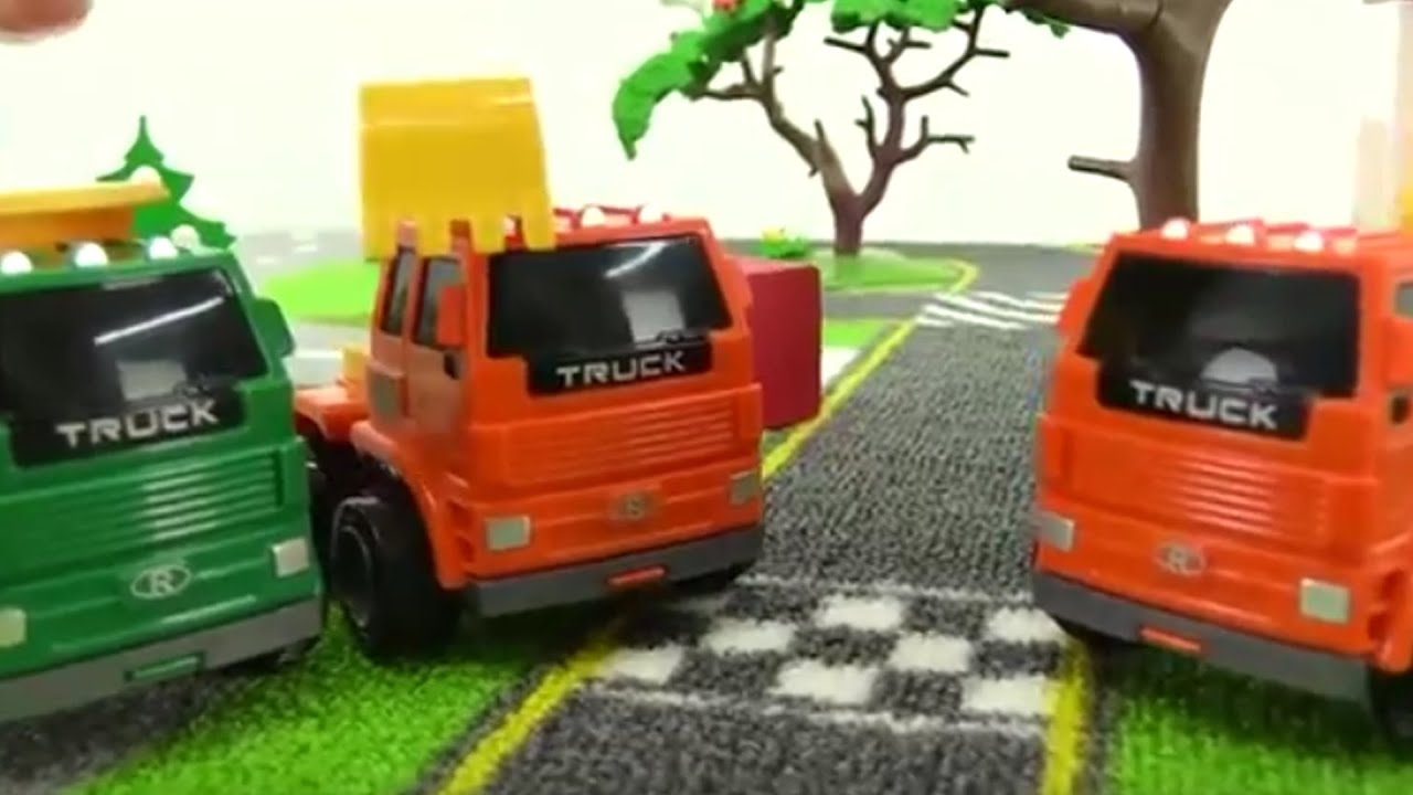 big trucks cars for kids trucks for kids toy cars car videos for children youtube