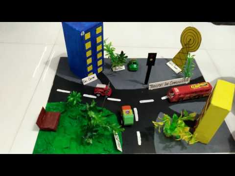 Transport and communication model - YouTube