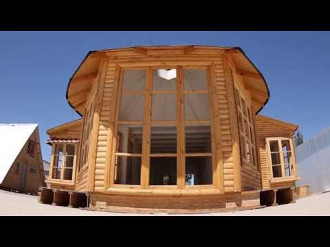 Casa yurta youtube for Casas industrializadas precios y modelos