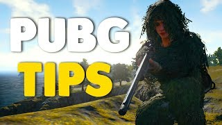 10 PRO TIPS For Beginners In PUBG