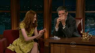 Karen Gillan on the Late Late Show with Craig Ferguson