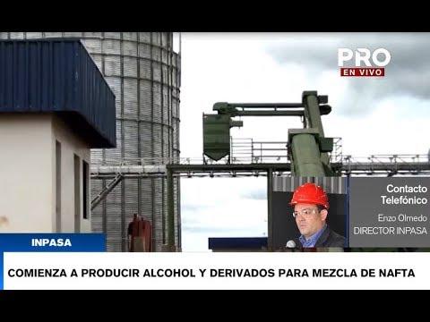 Nueva planta inicia producción de alcohol en San Pedro