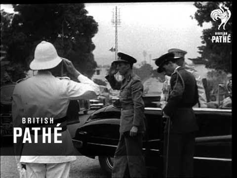 Prince Charles Visits The Belgian Congo AKA Prince Charles Of Belgium In Congo (1947)
