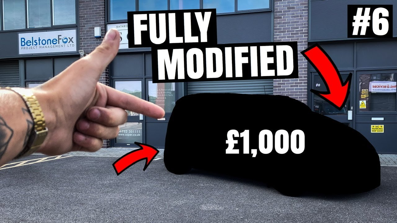 HOW TO TURN £500 INTO £15,000 Episode #6. ** MY FIRST MODIFIED CAR TO SELL **