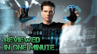 Minority Report Review (1 Minute)