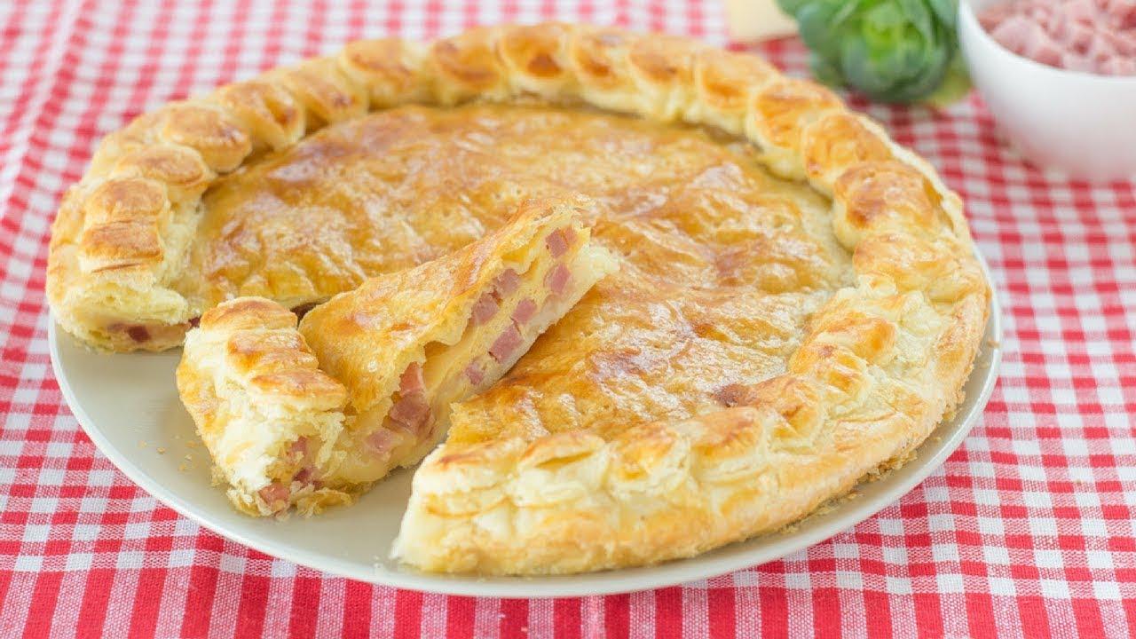 Pizza rustica prosciutto e formaggio ricetta facile for Fatto in casa da benedetta 2