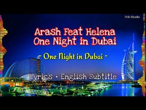 Arash feat Helena - One Night in Dubai | Lyrics + English Subtitle
