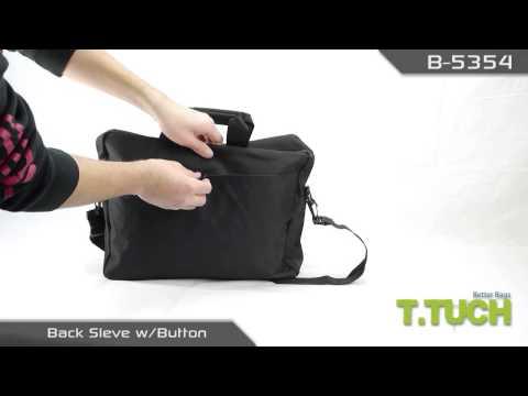 TTUCH - Professional Portfolio Briefcase [B-5354]