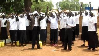 Wau Diocese Mothers Union dance in Wau, Sudan