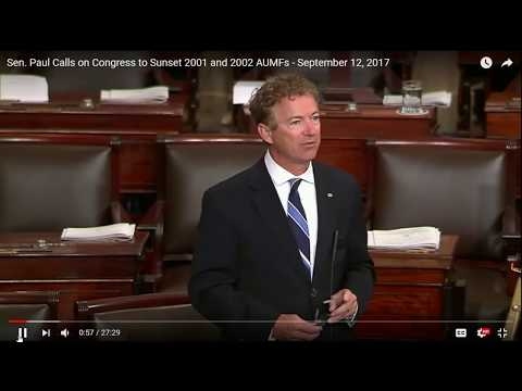 Republicans and Democrats Unanimously Vote Down Rand Paul's Bill to Repeal President's War Powers