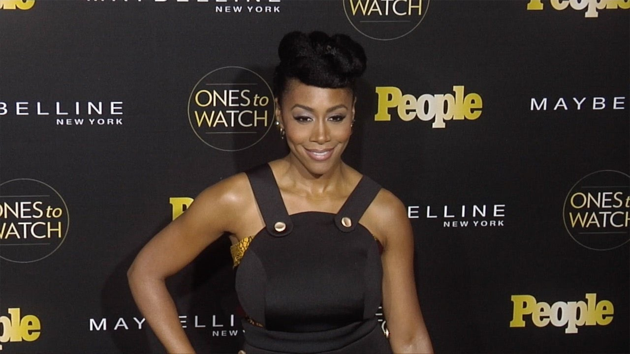 """Simone Missick attends People's 2016 """"Ones to Watch"""" Event - YouTube"""