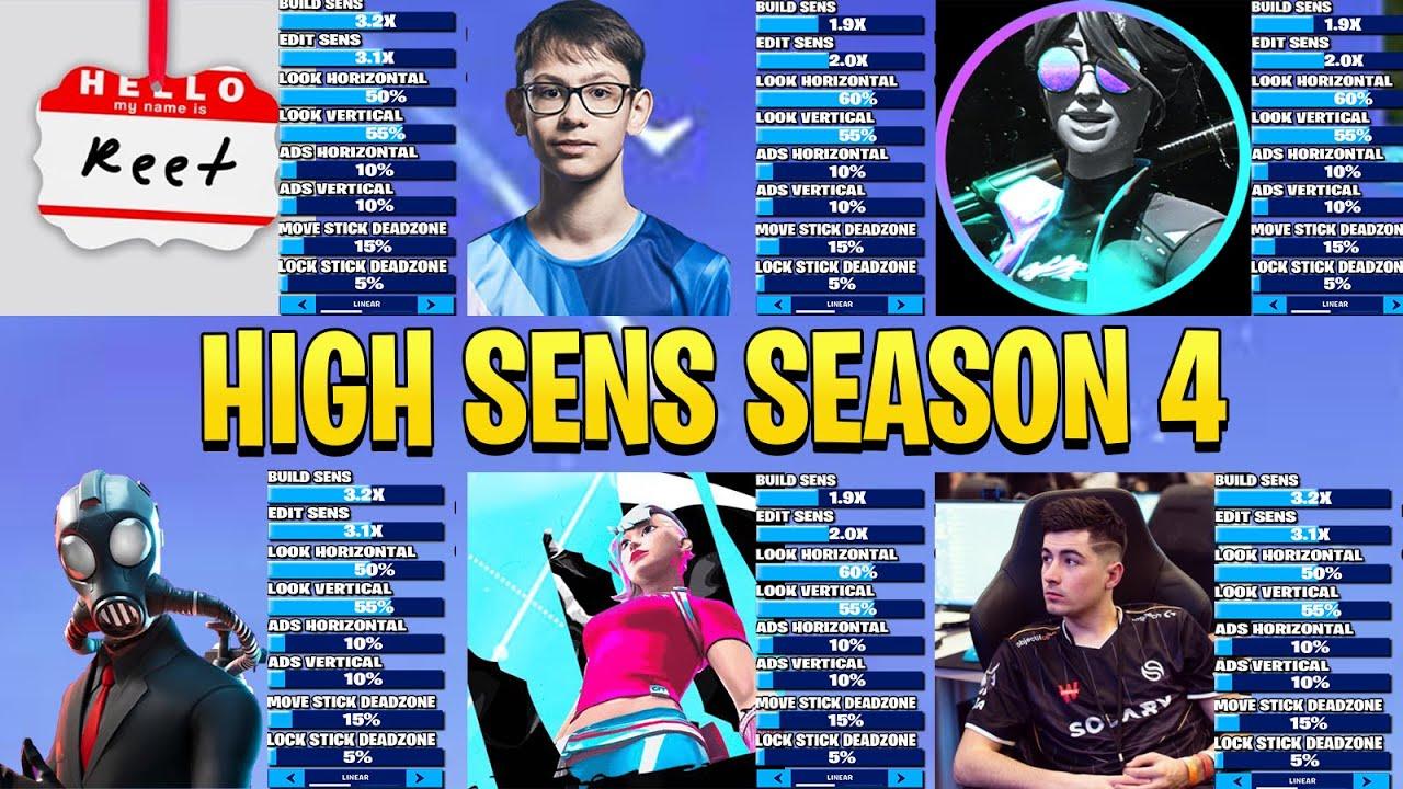 All Controller High Sens Season 4 (Letshe, reet, hardfind, crr...)